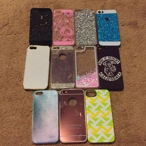 Accessories - HUGE LOT IPHONE 5/5s phone cases!